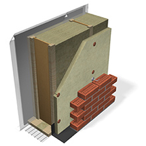 Ventilated I-joist frame wall, passive house