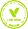 Certificate Eco Material Green