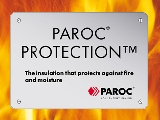 Paroc Protection against fire