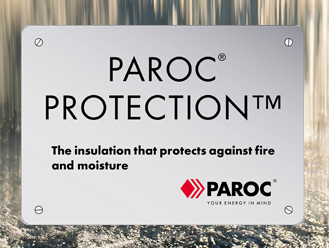 Paroc Protection against water