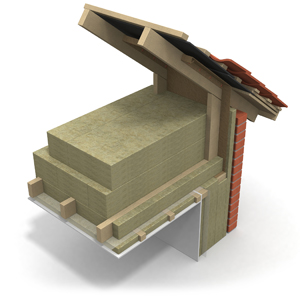 Attic, flexible, passive house